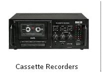 Cassette Recorders