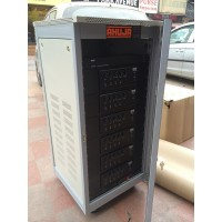6 zone paging system rack